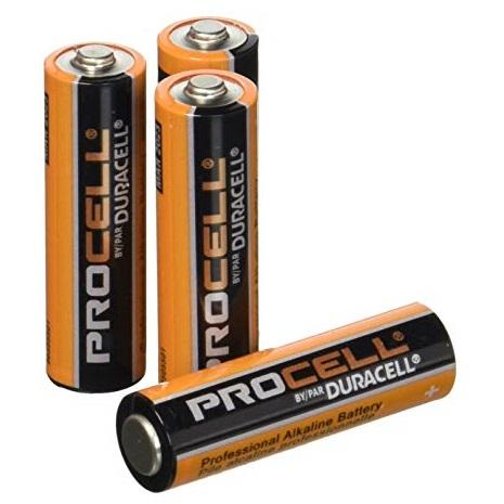 144 Count Case Duracell Procell AA Batteries From SecuRe ioTec